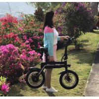 Disc Brake Folding Electric Scooter 350W / 500W With CE / ROHS Manufactures