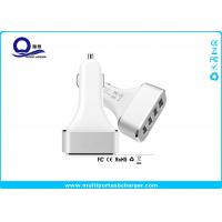 Quality Quick Charge 2.0 4 Port USB Car Charger 48W 9.6A / iPhone usb car adapter Fast for sale