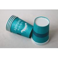 12 Oz 380ml Single Wall Paper Cups For Hot Drinks With Lids In Blue Color Manufactures