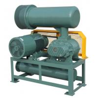 High Pressure Roots Air Blower Three Lobe Double Tank RPM 700 - 2200 Speed Manufactures