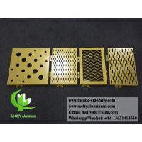 Customized Aluminium Panels Single Panel For Facade Cladding Fence Roof Manufactures