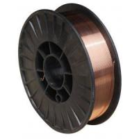 China copper coated mild steel Co2 gas shielded welding wire mig mag welding wire er70s-6 on sale