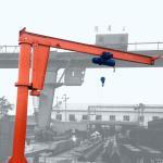 Indoor Semi Gantry Crane / 20 Ton Single Beam Bridge Gantry Crane BMH Model Manufactures