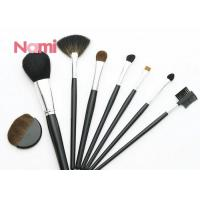 China Private Label Antibacterial Makeup Brushes , Customized Cosmetic Brush Set on sale