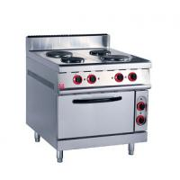 Buy cheap Stainless Steel Kitchen Commercial Baking Ovens , Industrial Bakery Ovens With Cabinet from wholesalers