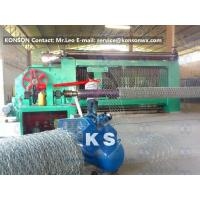 Automatic Gabion Box Machine Making Hexagonal Fence With Automatic Stop System Manufactures