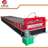 Full Automatic Sheet Metal Roofing Machine For Steel Roofing ISO 9001 Approved Manufactures