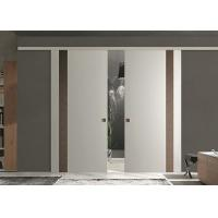 Sound Proof Classic Double Interior Sliding Barn Doors For Homes CE Approved Manufactures