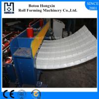 Colored Steel Roofing Sheet Crimping Machine For Curving 120 Degree Bend Angle Manufactures