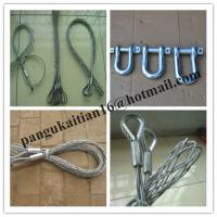 Stainless steel cable snakes,Single head-single strand Pulling grip Manufactures