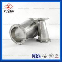 China Milk Beverage Processing Machinery Parts Pipe Fittings on sale