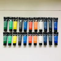 Artist's Acrylic painting Color Value Series 100ml & 75ml Phoenix Manufactures