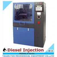 Touch screen type 4kw/380v/3phase, common rail diesel injector test bench with flow sensor Manufactures