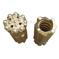 R32 R38 T38 T45 T51 Rock Drill Bits Domed Button Threaded Retract Bit 33 - 178mm Diameter Manufactures