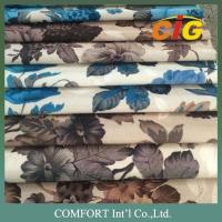 100% Polyester Printing Sofa Upholstery Fabric Suede Sofa Fabric Jacquard Sofa Fabric Manufactures