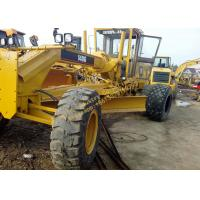 Yellow Color Used Motor Grader 140G 2009 Year With 138kW Rated Power Manufactures