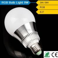 RGB led bulb fancy solar lights Manufactures