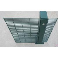 Quality PVC Coating 358 Wire Mesh Fence High Security Wire Prison Fence 2-3m Length for sale