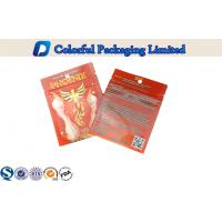 Aluminum Foil Ziplock Laminated Pouch For Herbal Incense Packing Manufactures