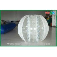 Hot Selling Bubble 0.6mm PVC/TPU 2.3x1.6m Inflatable Body Bumper Ball For Game Manufactures