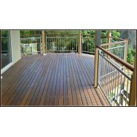 Exterior vertical inox railing stainless steel rod railing design for terrace Manufactures
