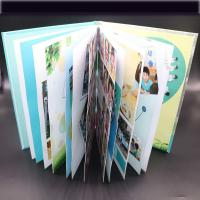 China Art Paper Saddle Stitched Booklet , Varnishing Surface Saddle Stitched Brochure on sale