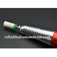 Buy cheap Large Barrel Type 6.5mm Diameter 13mm Length 2.35mm Shank Dia Ceramic Nail Drill from wholesalers