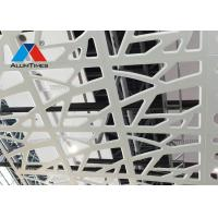 300*300mm Aluminium Perforated Ceiling / Industrial Rustic Drop Ceiling Tiles Manufactures