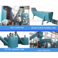 Safe Process Plastic Recycling Machine Consumer Polyethylene Terephthalate Bottle To Bottle Manufactures