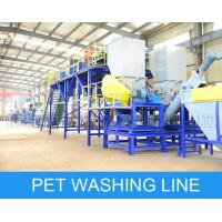 Fast Speed PET Bottle Recycling Machine Flakes Washing Recycling Production Manufactures