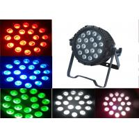 Ip65 Waterproof Led Light Outdoor Led Par Light 18x15w Rgbwa 5 In 1 Manufactures