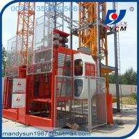 4ton Rack and Pinion Construction Hoist forLifting Materials and Passengers Manufactures