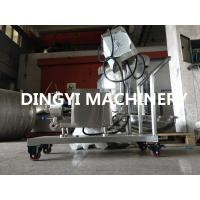 In Line High Shear Dispersing Emulsifier , High Shear Pump Homogenizer Motor Driven Manufactures