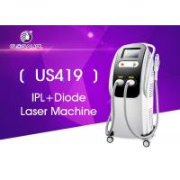 China Multi Function IPL Diode Laser FDA Approved No Leakage With White Color on sale