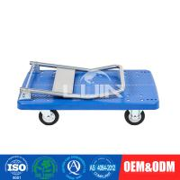 China Durable PVC Platform Hand Trolley for office / garage easy assemble on sale