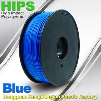 Recycled  HIPS 3D Printing Filament Materials 1.75mm  /  3.0mm 1.0KG Manufactures