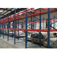 China Anti Rust Heavy Duty Pallet Shelving 2000kg Huge Load Capacity Robot Welding on sale