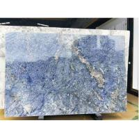Amazing Blue Granite Azul Bahia Granite For Top Hotel Decoration / Kitchen Manufactures