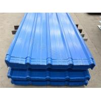 China ISO Pre Painted Galvanized Steel Sheet , PPGI Roofing Sheet Thickness 0.12mm - 2mm on sale