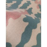 threee color woodland camouflage fabric for military Manufactures