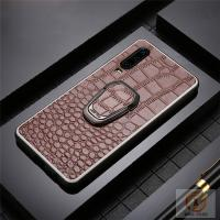 Genuine Leather Cell Phone Protective Covers Embossed Crocodile Skin Pattern Manufactures