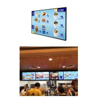 LED Touch Screen Digital Signage Display , Wall Mounted Advertising Display With Camera Manufactures