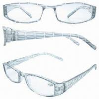 Fashionable Reading Glasses with Plastic Frame, Suitable for Retail and Wholesale Purposes Manufactures