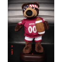 China 12Inch Plush American Football Bear Baby and Toddler Electronic Toys for Promotional Gifts on sale