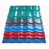 Zinc Coating Building Material 50-180g/M2 Corrugated Steel Roof Sheets Manufactures