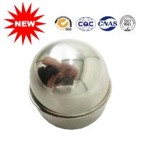 China Spray Painted Metal Ball Float , Fluid Level Control Floats With Polished Surface on sale