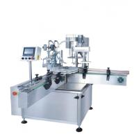 China Hot Sale WSGX-2D-1518 China manufacture 500ml olive oil filling and capping machine with wholesale price on sale