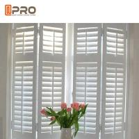 Jalousie External Plantation Shutter / German Aluminium Window Shutters Manufactures