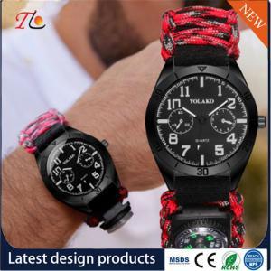 China wholesale Woven watchband men's watch sports watch fashion watch on sale