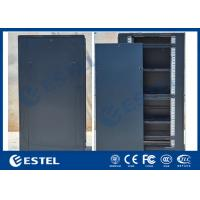 Cold Rolled Steel Indoor Server Cabinet IP31 SPCC Floor Mounted Detachable Structure Manufactures